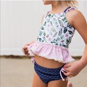 Cheeky Plum Tankini Swimsuit